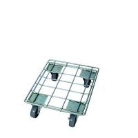 Galvanised crate trolley 620x420x150mm
