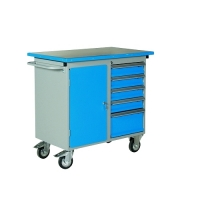 Tool trolley with 5 drawers 1025x600x900