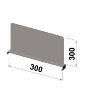 Shelf divider 300x300 zn