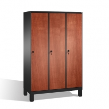 3-door locker, 1850x1200x500, MDF doors