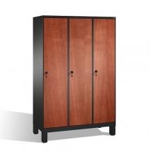 Riidekapp 3x400, 1850x1200x500, lamineeritud uksed