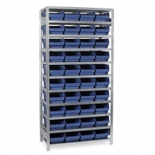 Box shelf 2100X1000X300, 40 boxes 300x240x150 starter bay