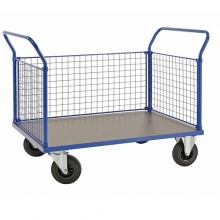 PLATFORM TRUCK with mesh end panel 1166x700x1020/500kg