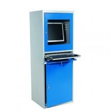 Datorskåp, 1730x545x645mm , hopfällbar