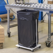SACK TROLLEY fitted for one 60L plastic bag
