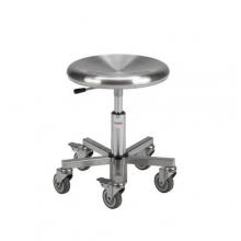 Taburet Inox 350, kõrgus 370-500 mm