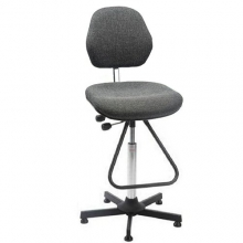 Chair Aktiv, gray, high, with footrest