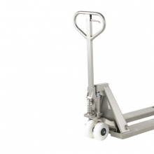 Hand pallet truck 1130x520/2000 kg. Stainless