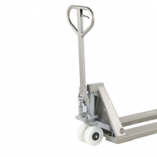 Hand pallet truck 1130x520/2500 kg. Semi Stainless