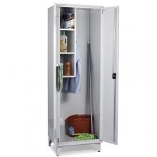 Siivouskaappi 2:lla ovella 1900x1000x545 RAL 7035
