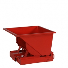 Tipping container 150L red