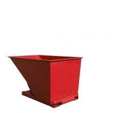 Tipping container 2000L red