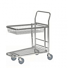 In-Store trolley with basket, 870x530x1010mm
