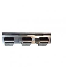 Väggskena för PVC-Beslag, Rostfri, 1968mm
