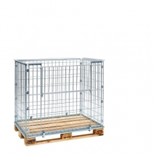 Pallet cage 1220x820x870 opening long side
