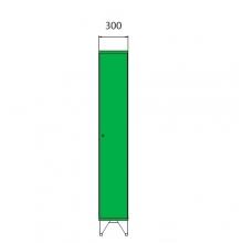 Koolikapp 1590x300x545