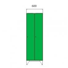 School locker 1590x600x545