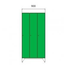 School locker 1590x900x545