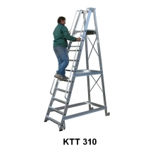 Mobile stair 2260 mm+ wheels