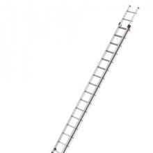 2-section extending ladder Prof 9,50m, 2x18 steps