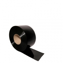 PVC curtain black 2x300mm/meter