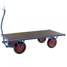 Heavy duty trolley 3000 x 1000 x 490/800 kg