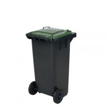 Refuse bin 120 L, green lid