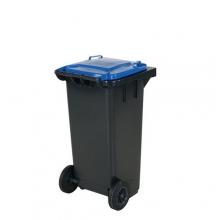 Refuse bin 120 L, blue lid