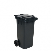 Refuse bin 120 L, dark grey lid
