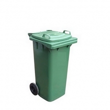 Refuse bin 120L green