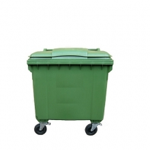 Refuse bin 660L green
