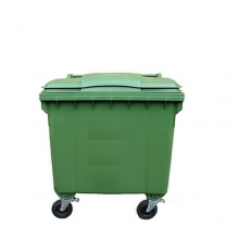 Refuse bin 770L green