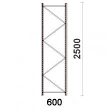 Frame H2500xD600mm 55*47*1,5