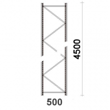 Frame 4500x500mm  55*47*1.8