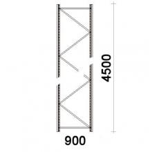 Frame 4500x900mm 55*47*1,8