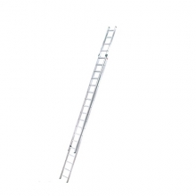 2-sektion extending ladder Prof 9,51m, 2x18 steg