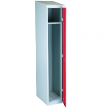 Red/Grey, locker 1 door  1920x350x550