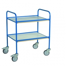 Table top trolley 766x580x945, blue