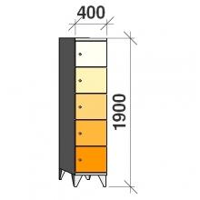Sektsioonkapp, 5 ust, 1900x400x545 mm