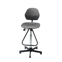 Chair Solid high with footrest