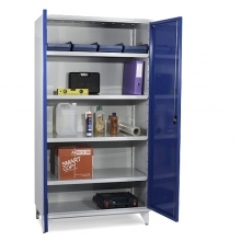 Tool cabinet 4 shelves 1900x1000x545