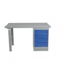 Töölaud 1600x800 5-osalise sahtlikapiga, puitkiudplaat
