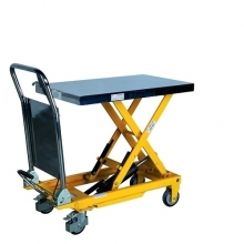 Lifting table with foot pump 850x500 mm 500 kg