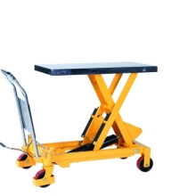 Lifting table with foot pump 1016x515 mm 1000 kg
