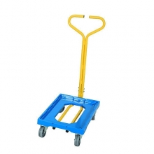 Tray trolley with handle 605x402x162mm