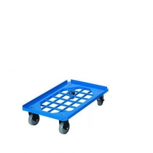 Tray trolley 2 turning+2 fixed wheel PD250A 620x420x165mm
