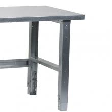 Workbench leg set(2 pcs.) galvanized, 725 mm