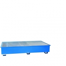 Drum pallet for 2 Cipaxes 2530x1310x450