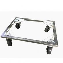 Tray trolley 600x400mm, PU wheels