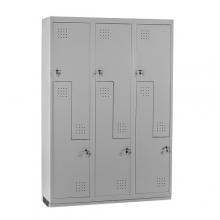 Z Metallskåp ECO, 6 dörrar, 1820x1200x450, RAL7035, omonterat